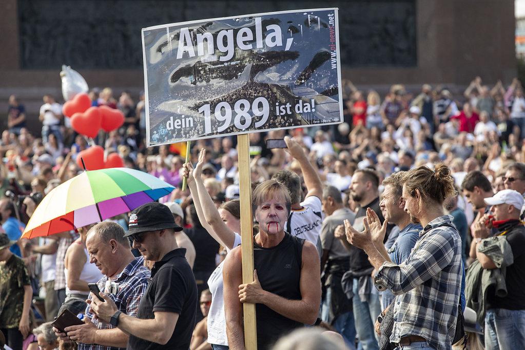 Anti Corona Demonstration